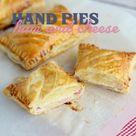 Ham and cheese hand pies