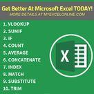 Top Excel Formulas & Function Examples