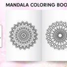 Best Mandala Coloring Book KDP Interior Graphic by dresserszonez · Creative Fabrica