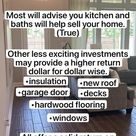 ⚠️Best Home Remodel ideas to increase the value of your home.🏠 #homebuyingtips #financetips