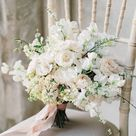 Ethereal Pink & White Bridal Bouquet