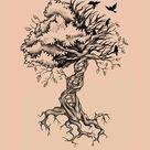 Tree of Life Birds DNA Tattoo by Elvina-Ewing on DeviantArt