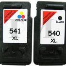 DRUCKER PATRONEN Kompatibel für Canon Pixma MX535 PG540XL Schwarz CL541XL Farbe