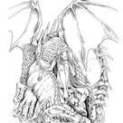 Vintage Classic Coloring Pages II: Relaxing coloring pages, Stress Relieving Designs, Dragons, Women, Beasts, Fairies and More, PDF