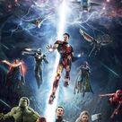 Avengers hero art iPhone 8 Wallpapers