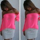 Hot Pink Tops