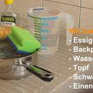 Backofen reinigen - Wie Sie den Ofen mit Essig und Backpulver sauber machen