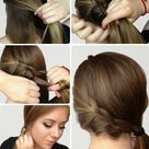 Braided Side Ponytails