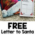 Letter to Santa Template FREE