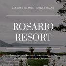 Rosario Resort Wedding Venue on Orcas Island, WA