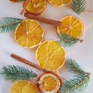 Dried Orange & Cinnamon Garland  Natural Garland  Orange    Etsy