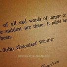 Sad Words