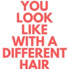 See What You Look Like with a Different Hair Color