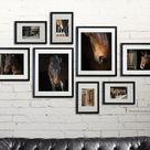 Horse decor/gallery wall/Horse Photography/Horse tack/large wall art/personalized wall decor/girl room decor/horse prints/