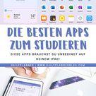 Uni mit dem IPad   Apps & Tipps fürs studieren   Dailyplanner