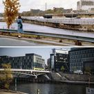 Photo combinations show how Berlin has changed