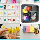 45+ Learning Activities For 18-24 month olds. Toddler activities.