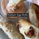 Rueben Egg Rolls
