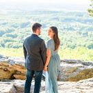 Emily & Brian's Bears Den Engagement Session - manaliphotography.com