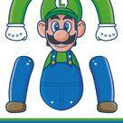 Super Mario Bros. paper puppets - M. Gulin