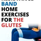 11 Best Resistance Band Exercises For Glute Strengthening (Home Exercises)