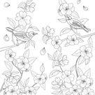 Süße Malvorlagen Blumen Für Gemischte  Kostenlos Herunterladen Und Ausdrucken