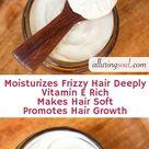 DIY Olive Oil Hair Conditioner Cream