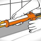 Silikonfugen entfernen und erneuern – 6 Schritte   OBI