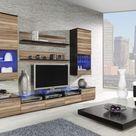 12 Wohnzimmerschrank Nussbaum Trendy