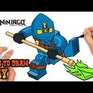 How to Draw Ninjago | Jay
