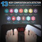 RENPHO Körperfettwaage Digital Personenwaagen Bluetooth Körperanalysewaage mit App Smart Waage