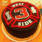 Firefighter Cakes