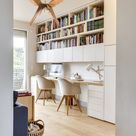 Desk Mid Century Modern Wood Pendant Light | Hanging Chandelier Lighting | Handmade Lampshade Design