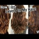 How To Cut Layers In Your Hair at Home VLOG!│DIY Long Layers Hair Cutting Talk Through