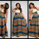 Long African Dresses