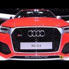 2015 Audi RS Q3 2.5 TFSI Quattro   Exterior and Interior Walkaround   2015 Geneva Motor Show