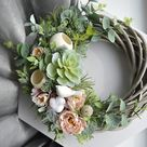 Сozy and warm Rustic Wreaths for your home by RusticGreeneryDecor