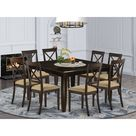 Pilning Extendable Solid Wood Dining Set