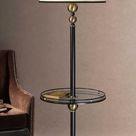 Revolution End Table Floor Lamp