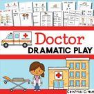 Doctor Pretend Play Printable for Preschool Kids
