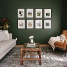 Tips for Decorating a Living Room with Dark, Bold Paint Color - Kitty Cotten