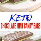 BEST Keto Candy Low Carb Keto Chocolate Mint Candy Bars Idea – Quick & Easy Ketogenic Die