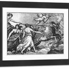Large Framed Photo. Aurora by Guido Reni