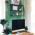5 DIY Ideen für dein kleines Home Office im Wohnzimmer