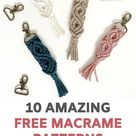 10 Free DIY Macrame Projects for Beginners by Soulful Notions - Macrame for Beginners