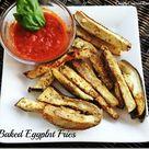 Baked Eggplant Fries