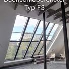 Dachfenster Dachschiebefenster Typ F3 Panoramafenster