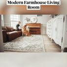 Small Living Room Ideas Modern Farmhouse Living Room - DIY Home Improvement