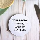 Make Your Own Custom Neoprene Coaster,Round Circle Personalized Coaster Set,Wedding Photo Coasters With Your Picture,Soft Quote Coasters
