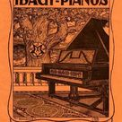 252 Piece Puzzle. Ibach pianos - early 20th century advertisement